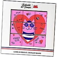 ル・ショコラ・デ・フランセ バレンタインデーコレクション スクエアボックス入りチョコレート 9個入り