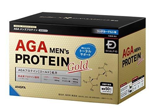 AGAメンズ プロテイン ゴールド(リッチヨーグルト味)