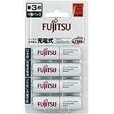 富士通 ニッケル水素電池 単3形 1.2V 4個パック 日本製 HR-3UTC(4B)