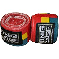 Handwraps Mexican Style stretchable-グリーン/イエロー/レッド – 180