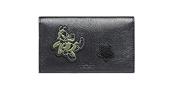 95179f7aac53 Amazon   COACH UNIVERSAL PHONE CASE IN SMOOTH CALF LEATHER WITH VARSITY  PATCHES/コーチ スマートフォンケース F12006 BLK ギフトレシート付き [並行輸入品] ...