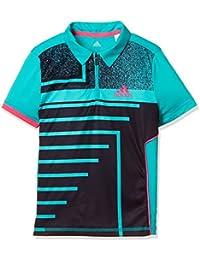 [アディダス] テニスウェア Rule#9 ポロシャツ FKR00 [ボーイズ]
