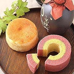 敬老の日 ギフト 焼酎ケーキと苺バウムクーヘン スイーツ