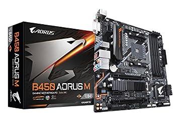 GIGABYTE B450 AORUS M M-ATX マザーボード [AMD B450チップセット搭載] MB4534