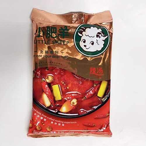 小肥羊 辣湯火鍋底料 鍋の素 辣湯 辛口 235g(4~6人分)