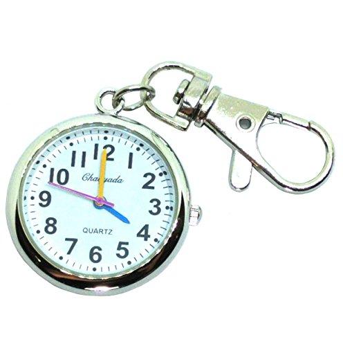 Ladyclare キーホルダー時計 キーチェーンウォッチ 小さな 懐中時計 フックウオッチ キーホルダー コンパクトタイプ 【正規品】