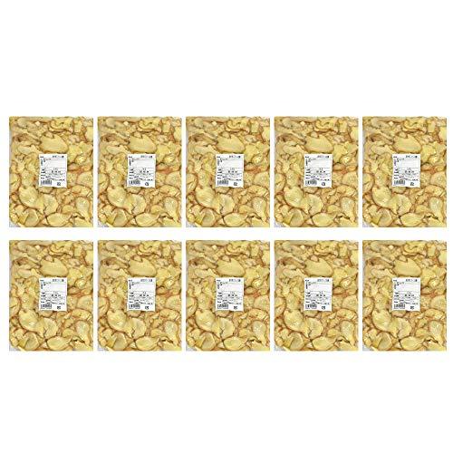 【冷凍】皮付きスライス生姜 1kg×10パック 高知県産[スライス生姜 皮付き 生姜専門店]【set】
