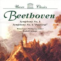 Symphony No 5 & 6/Munchner Philharmoniker/Kempe by Ludwig Van Beethoven (1996-02-14)