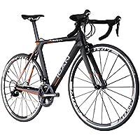 ICAN(アイカン) AERO 007 エアロT700カーボン ロードバイク Shimano(シマノ) 105 (5800)グループ エアロダイナミクス採用フレーム  サイズ:50/52/54/56/58cmから選択可(52cm-約7.85kg) 超轻量