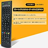 allimity RMT-B005J(代用) fit forソニー SONY ブルーレイ ディスクレコーダー BDZ-EX200 BDZ-RS10 BDZ-RX30 BDZ-RX50 BDZ-RX100 画像