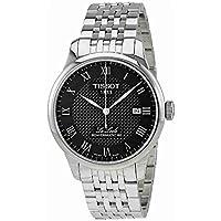 [ティソ] TISSOT 腕時計 ル・ロックル オートマティック パワーマティック80 ブラック文字盤 ブレスレット T0064071105300 メンズ 【正規輸入品】