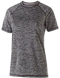 Holloway Ladies Electrify 2.0シャツ( XS ,ブラックHeather )