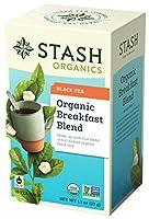 Stash Tea - プレミアム有機朝食ブレンド紅茶 - 1ティーバッグ
