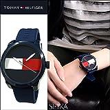 トミーヒルフィガー TOMMY HILFIGER 1791322 (117) 時計 腕時計 メンズ レディース ユニセックス ネイビー ラバー [並行輸入品]