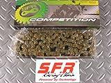 【NO819】SFR:レーシングチェーン 420-98L モンキー/ゴリラ/ダックス/シャリーなど汎用