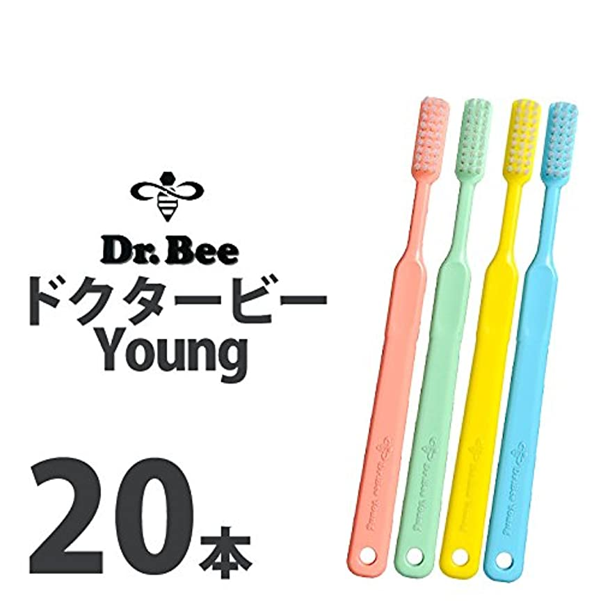延ばすフェザーお酢ビーブランド ドクタービー Dr.Bee ヤング 4色アソート ソフト やわらかめ 20本