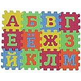 LALANG 子供用 ロシアアルファベットパズル フォームマット カーペット おもちゃ ベビー 言語学習玩具