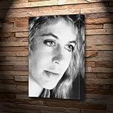 LINDA HAMILTON - キャンバスプリント(A5 - アーティストによる署名) #js002
