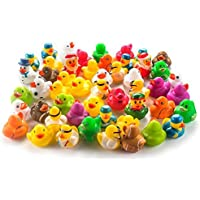 Fun Central AY771 Rubber Ducks Toy Assorted - 50 ct [並行輸入品]