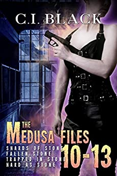 The Medusa Files Collection: Books 10, 11, 12, and 13 by [Black, C.I.]