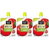 ミニッツメイド 朝リンゴ 180g ハンディパック×3本