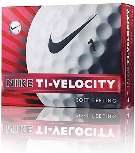 NIKEGOLF(ナイキゴルフ) ゴルフボール TI-VELOCITY GL0612-101 1ダース(12個入り) ホワイト