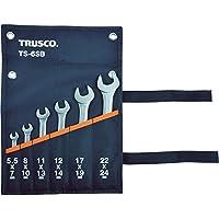 TRUSCO(トラスコ) 両口スパナセット(6本組) TS-6SB