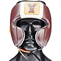 Ultimatum Boxing GenuineレザーKids ' Boxing Headgear Ultimatumユースワンサイズチェリー