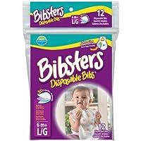 Neat Solutions(ニート?ソリューション) Bibsters マジックテープ式使い捨てエプロン ビブスター 12枚入
