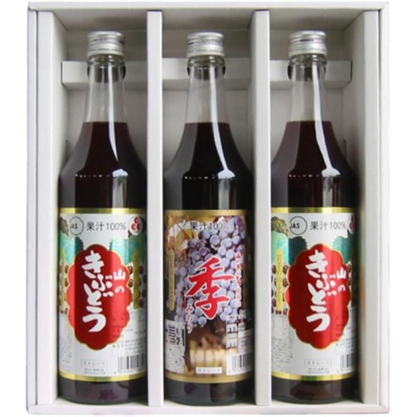 商業の火山学者真面目な佐幸 SA470ギフトセット (2種の果汁100%ぶどうジュース600ml  3本入)