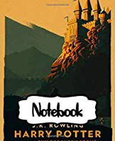 Notebook: Potterhead Magical Adventure Series Movie Comic Non Science Soft Glossy College Ruled Notebook with Ruled Lined Paper for Taking Notes Writing Workbook for Teens and Children Students School Kids Inexpensive Gift For Boys and Girls