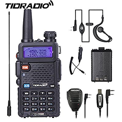 UV5R Ham Radio,Dual Band Walkie Talkie