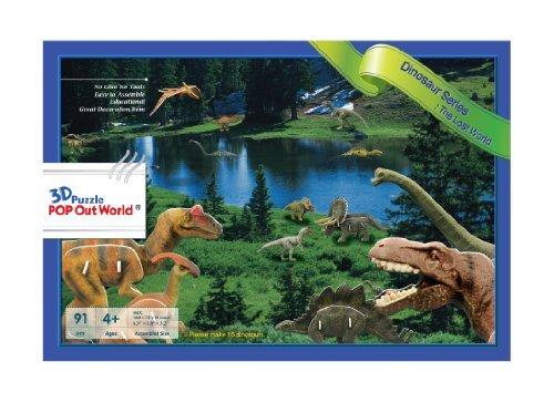POP Out World 動物&昆虫シリーズ 恐竜シリーズ: ロスト・ワールド