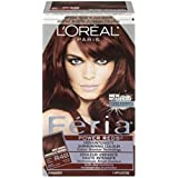 L'Oreal Feria Power Reds Hair Color, R48 Intense Deep Auburn/Red Velvet by L'Oreal Paris Hair Color [並行輸入品]