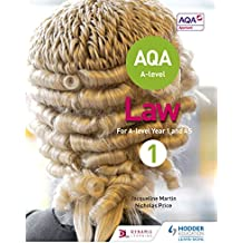 AQA A-level Law for Year 1/AS (A Level Law)