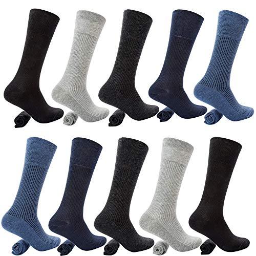 靴下 メンズ ビジネスソックス フォーマル 10足組クールビズ 25-27cm紳士選べるセット(NT001B)