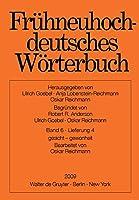 Fruhneuhochdeutsches Worterbuch: Gesicht - Gewonheit