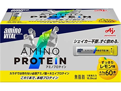 「アミノバイタル」アミノプロテイン レモン味 60本入箱
