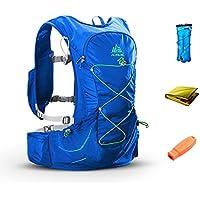 TRIWONDER 15L ハイドレーションパック トレラン ザック ランニング ベスト マラソン リュック トレイルラン バッグ 給水袋付き