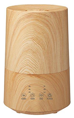 ハイブリッド加湿器「フロートL」 木目調 ナチュラルウッド HFT-1624NW