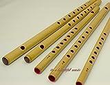【お祭り・お囃子用 篠笛】入門用 篠笛 無地【7穴6本調子】
