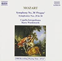 Symphonies 29, 30 & 38