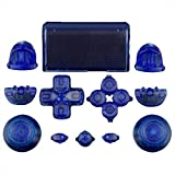 Mod Freakz Full Button Set Touch Pad Dpad Clear Blue For PS4 Gen 1 Controllers ONLY [並行輸入品]
