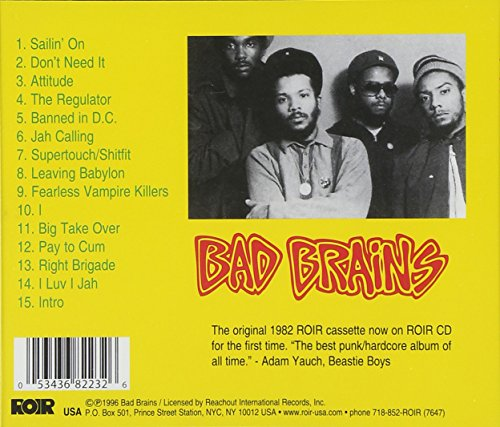 BAD BRAINS (RUSCD8223)