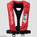 ダイワ(Daiwa) ライフジャケット ウォッシャブル 肩掛けタイプ手動・自動膨脹式 レッド フリー DF-2007