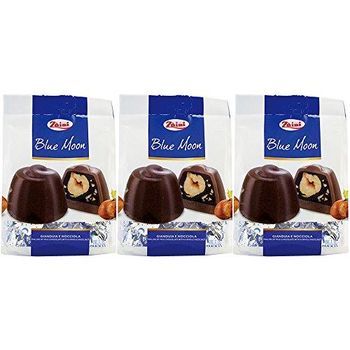 (ザイニ社) ザイニ ブルームーン (ヘーゼルナッツ入り チョコレート) 150g