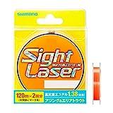 シマノ ライン サイトレーザー EX エステル 240m 0.4号 サイトオレンジ CL-L75Q