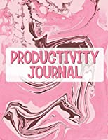 Productivity Journal: Time Management Journal - Agenda Daily - Goal Setting - Weekly - Daily - Student Academic Planning - Daily Planner - Growth Tracker Workbook