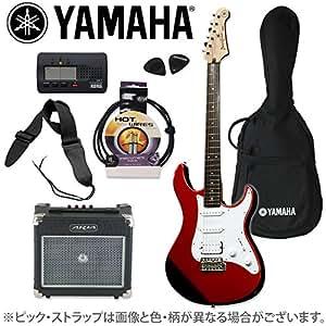 ヤマハ×オフプライス楽器特別企画 PACIFICA 012 Red Metallic アンプ&チューナーセット