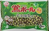 植垣米菓 鴬ボ-ルミニ宇治抹茶味 121g×12袋